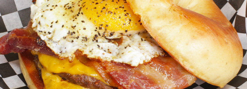 Breakfast Burger! Schaumburg Catering!