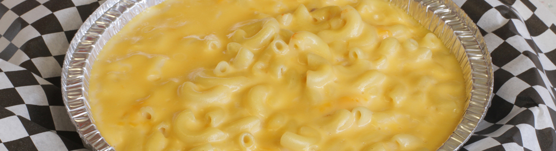 Aged Cheddar Mac & Cheese Pasta! Schaumburg Catering!