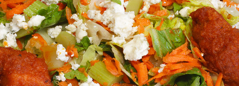 Buffalo Chicken Salad! Schaumburg Catering! Halal Chicken